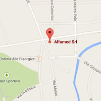codroipo google map alfamed