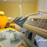 Sala gialla, dentista Alfamed di Codroipo