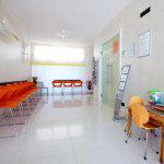 Sala d'aspetto dentista Alfamed di Codroipo