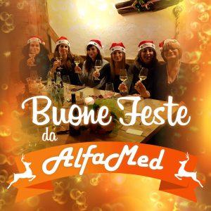 Tanti auguri di buone feste 2016 dallo staff Alfamed