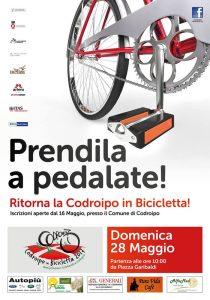 locandina codroipo in bicicletta 2017